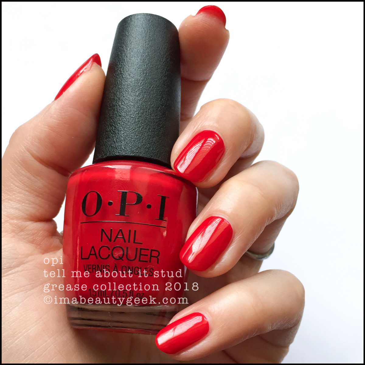 OPI Tell Me About It Stud - OPI Grease 2018