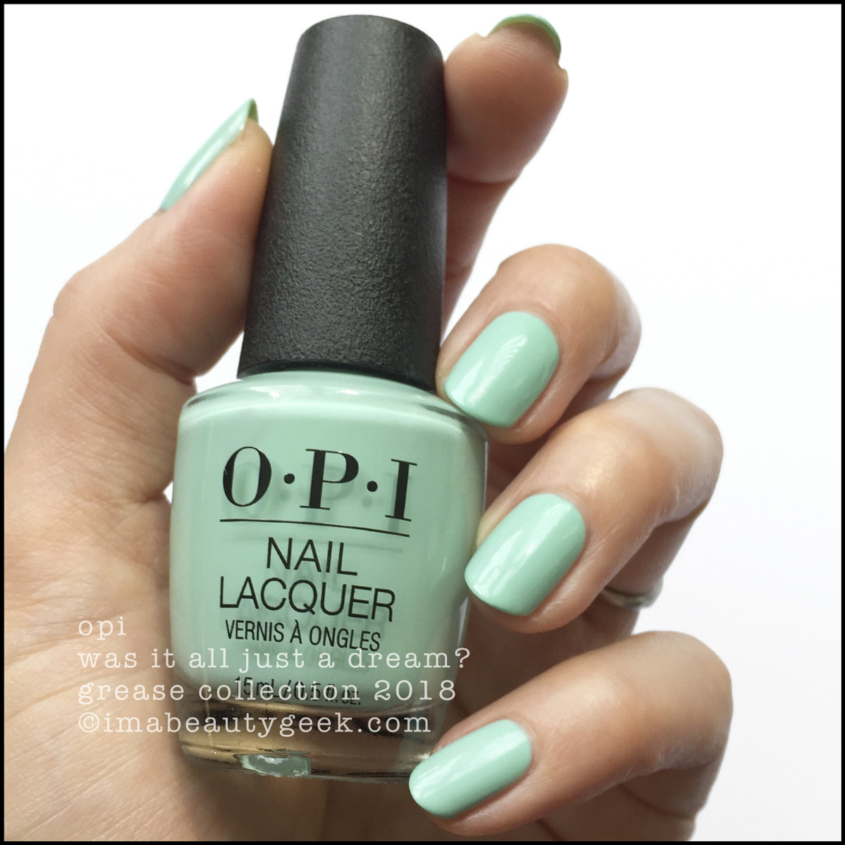 OPI Was It All Just a Dream? - OPI Grease 2018