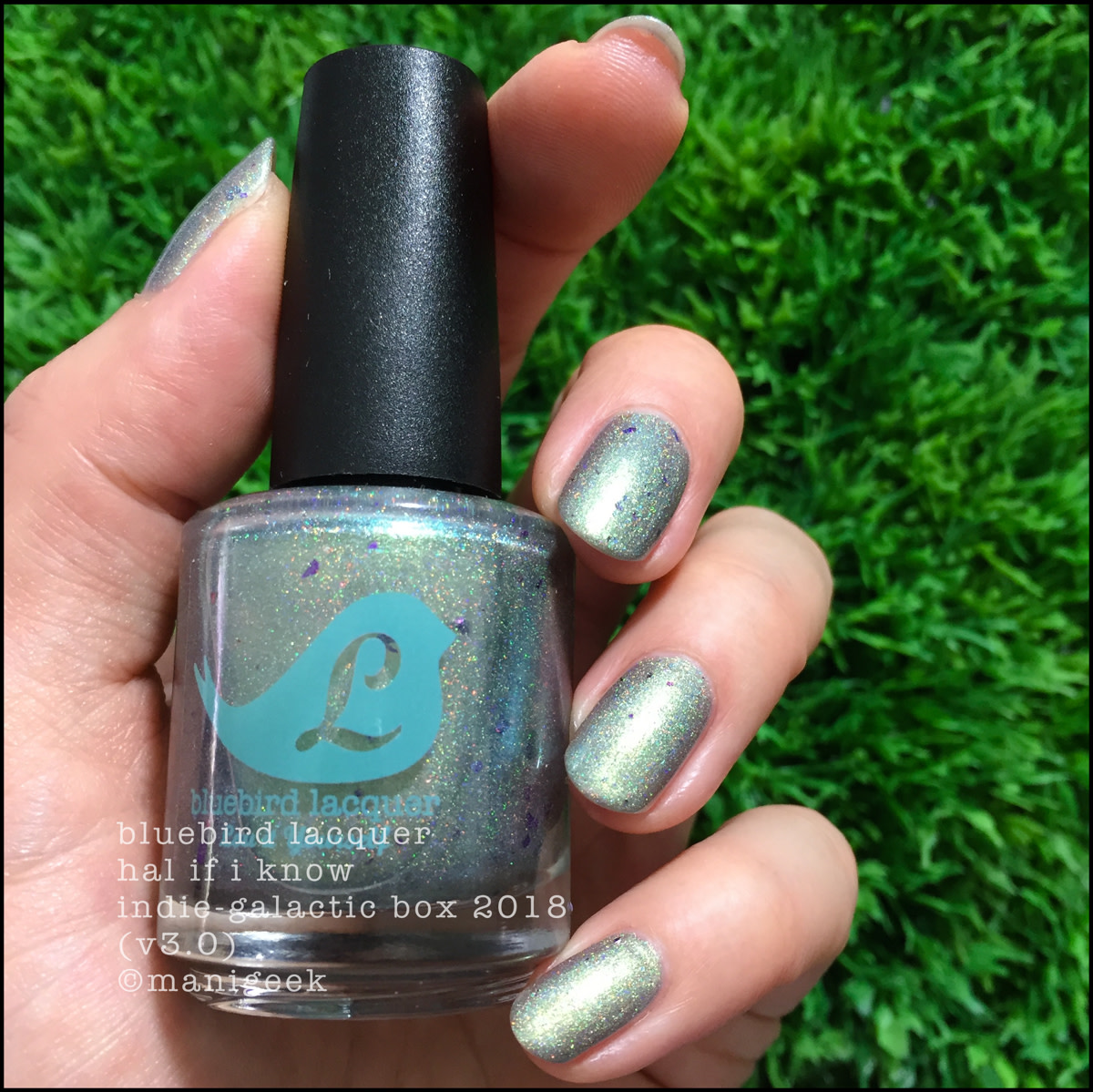 Bluebird Lacquer Hal If I Know 2 - Indie Galactic Box 3 2018