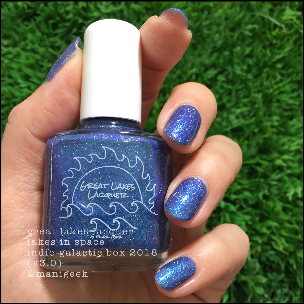 Great Lakes Lacquer Lakes in Space 2 - Indie Galactic Box 3 2018