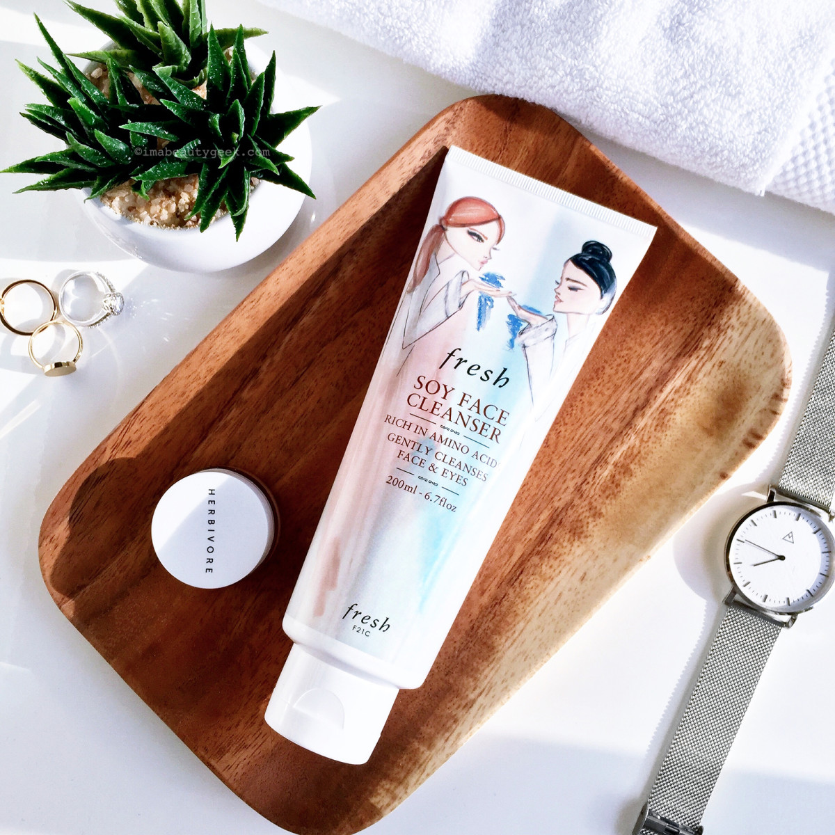 Soy Face Cleanser by fresh #21