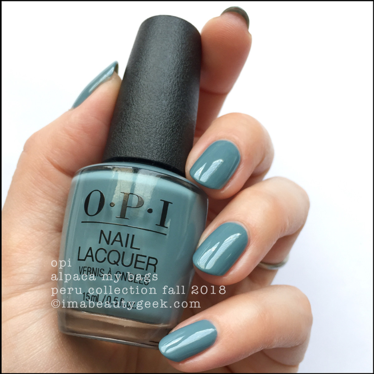 OPI Alpaca My Bags _ OPI Peru Collection Fall 2018