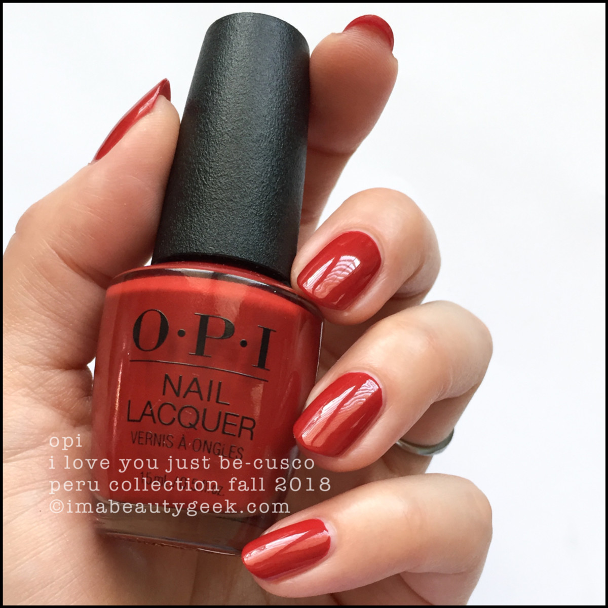 OPI I Love You Just Be-cusco _ OPI Peru Collection Fall 2018