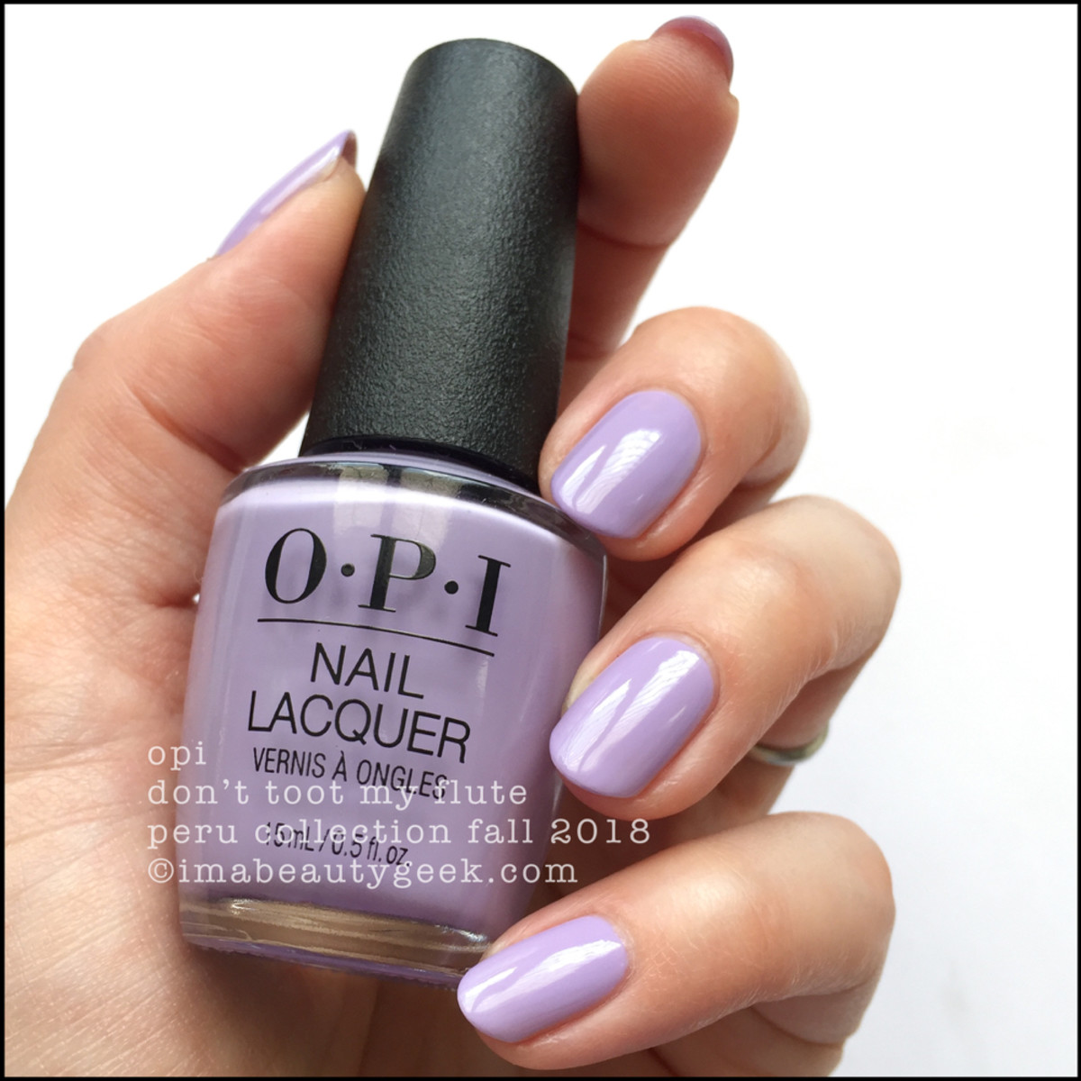 OPI Don't Toot My Flute _ OPI Peru Collection Fall 2018