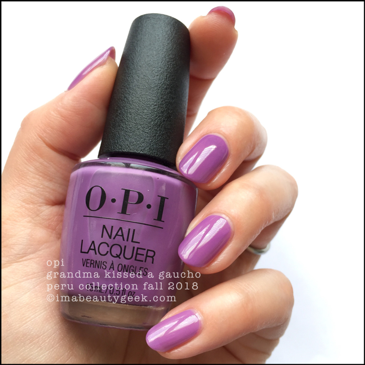 OPI Grandma Kissed a Gaucho _ OPI Peru Collection Fall 2018