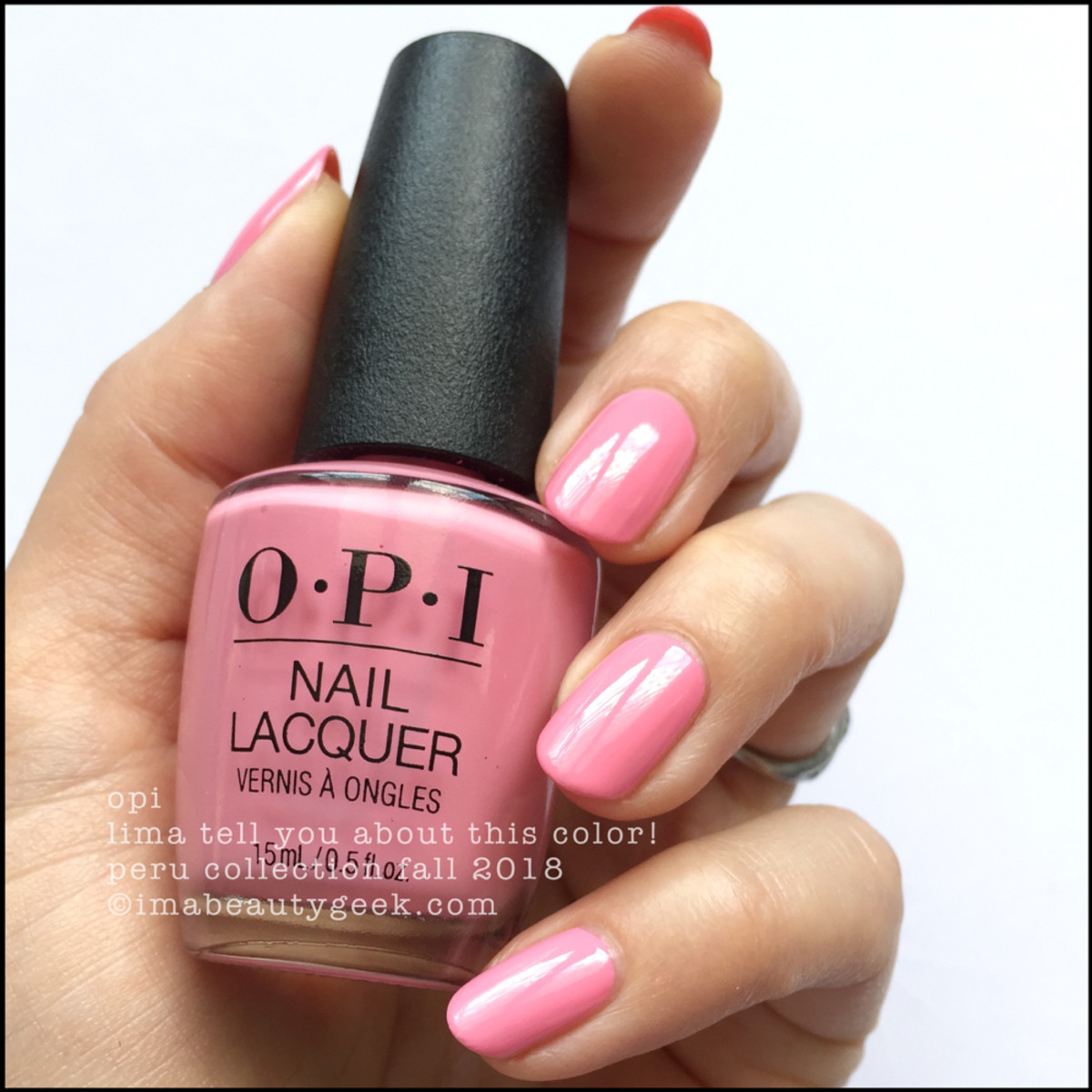 OPI Lima Tell You About This Color! _ OPI Peru Collection Fall 2018