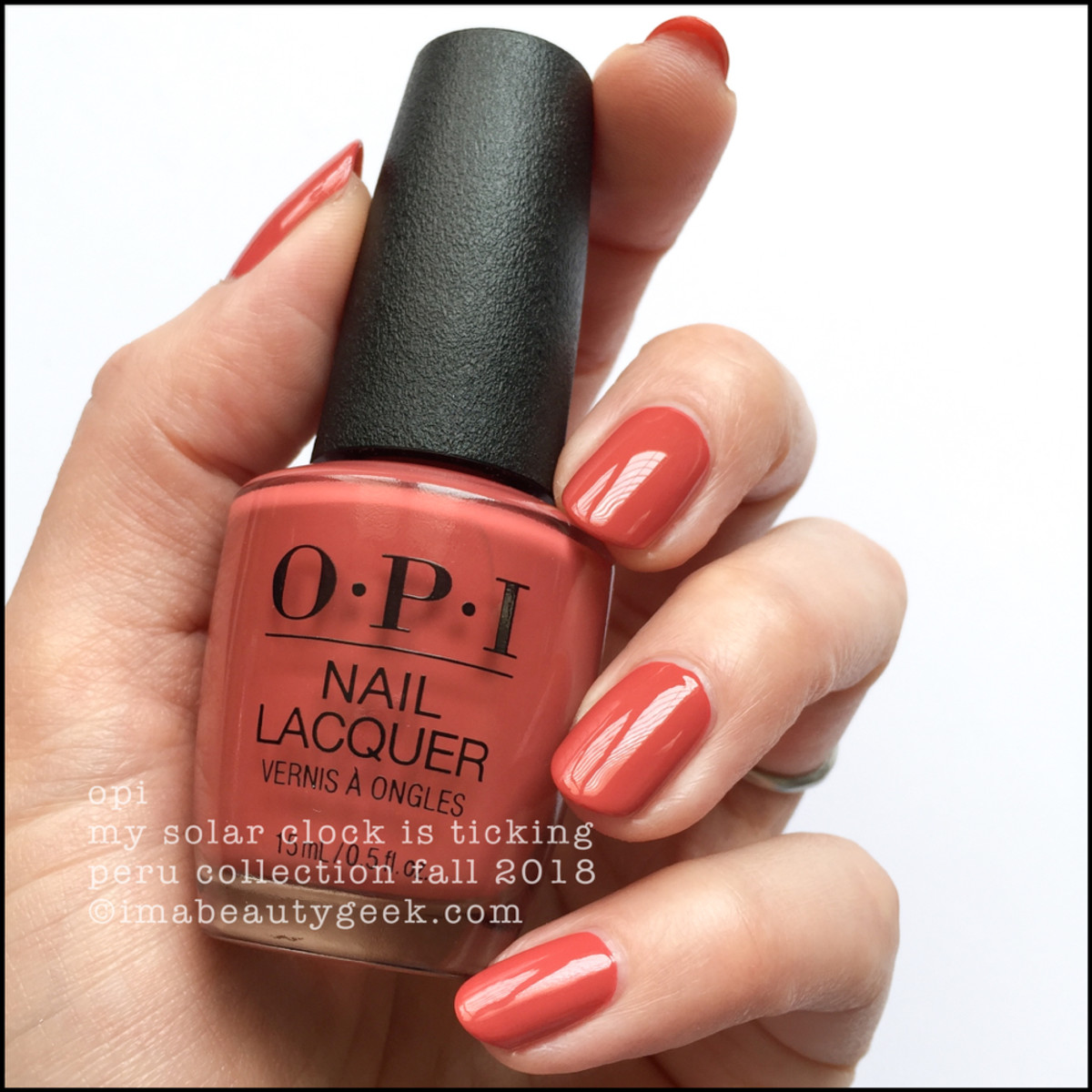 OPI My Solar Clock Is Ticking _ OPI Peru Collection Fall 2018
