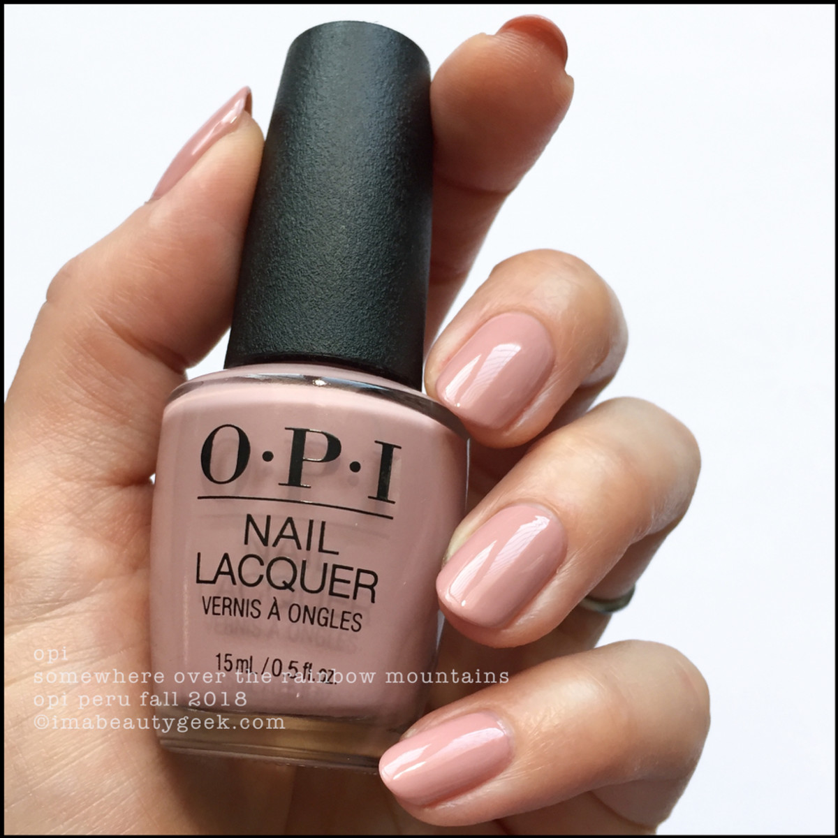 OPI Somewhere Over The Rainbow Mountains _ OPI Peru Collection Fall 2018