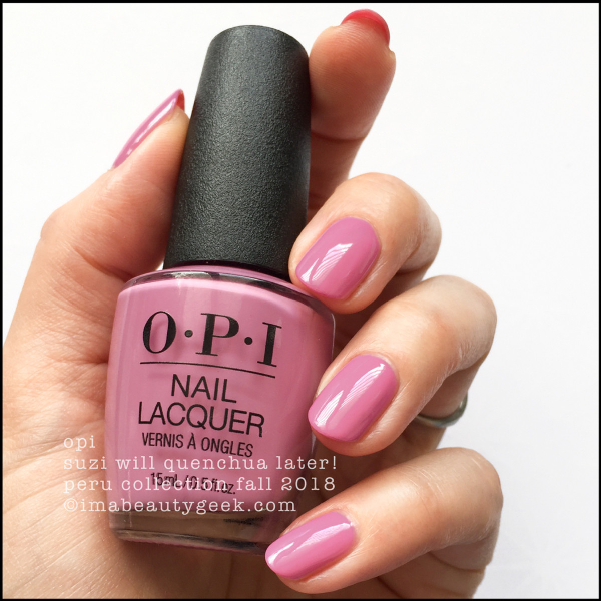 OPI Suzi Will Quenchua Later! _ OPI Peru Collection Fall 2018