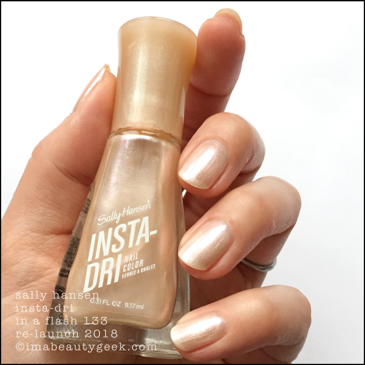 Sally Hansen In a Flash _ Sally Hansen InstaDri Swatches Review 2018