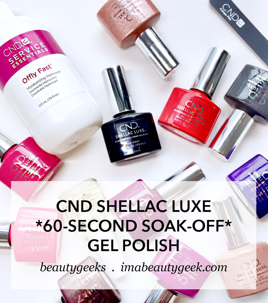Cnd Shellac Luxe A Speedy Salon Mani With A 60 Second Soak Off