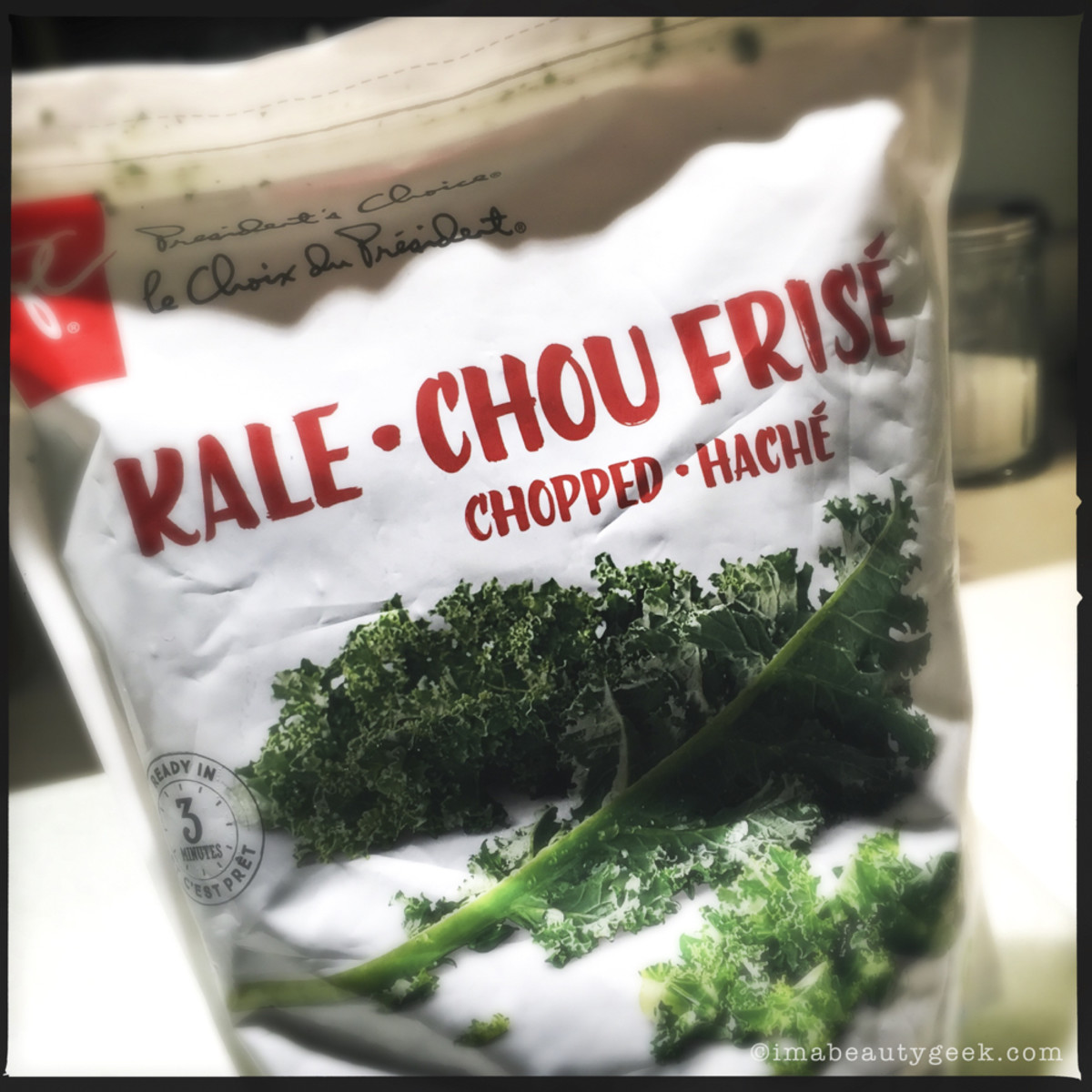President's Choice Chopped Kale