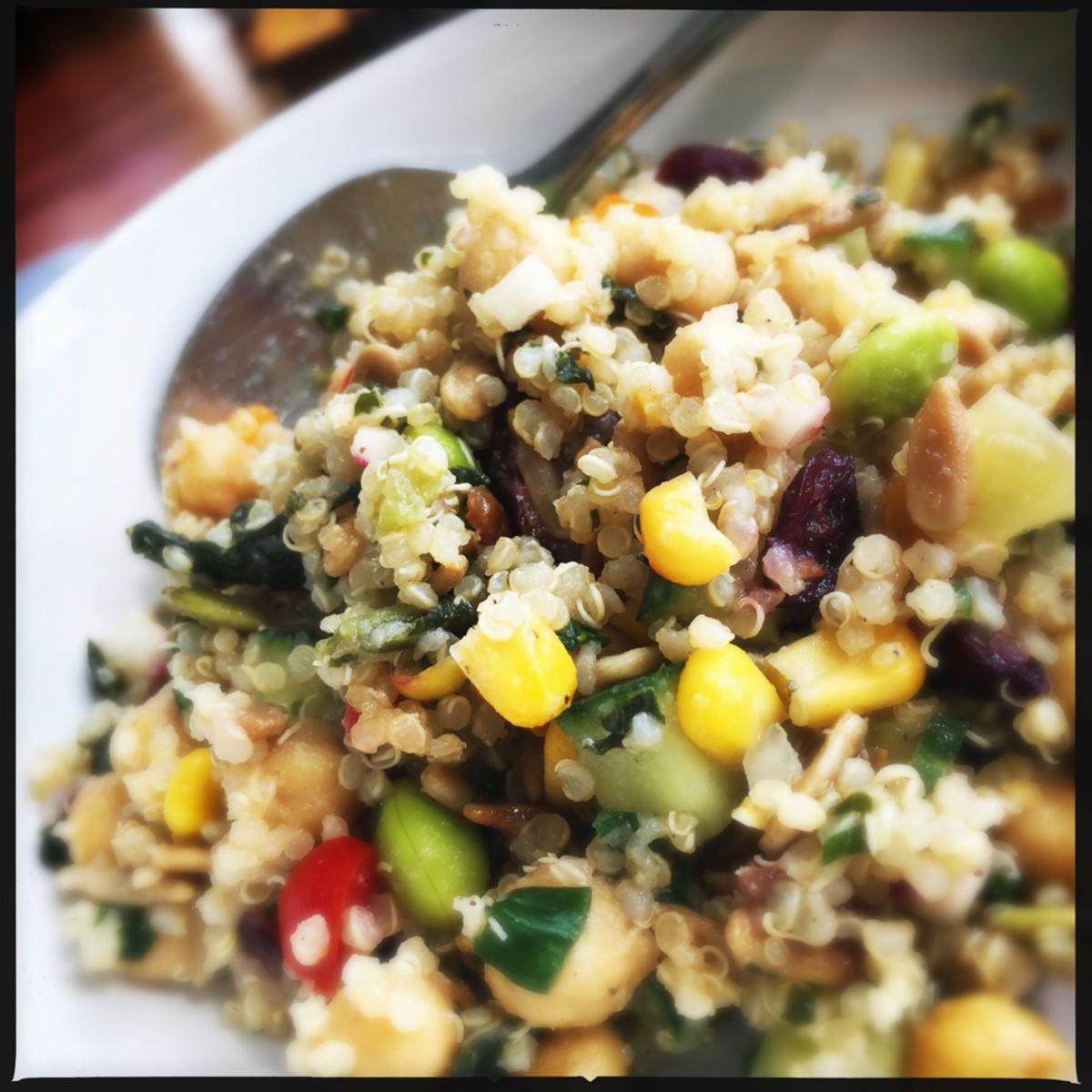 Manigeek Quinoa Salad