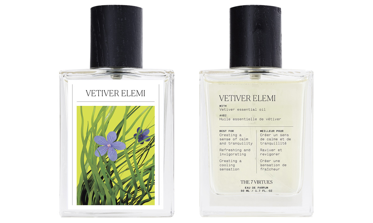 The 7 Virtues Vetiver Elemi