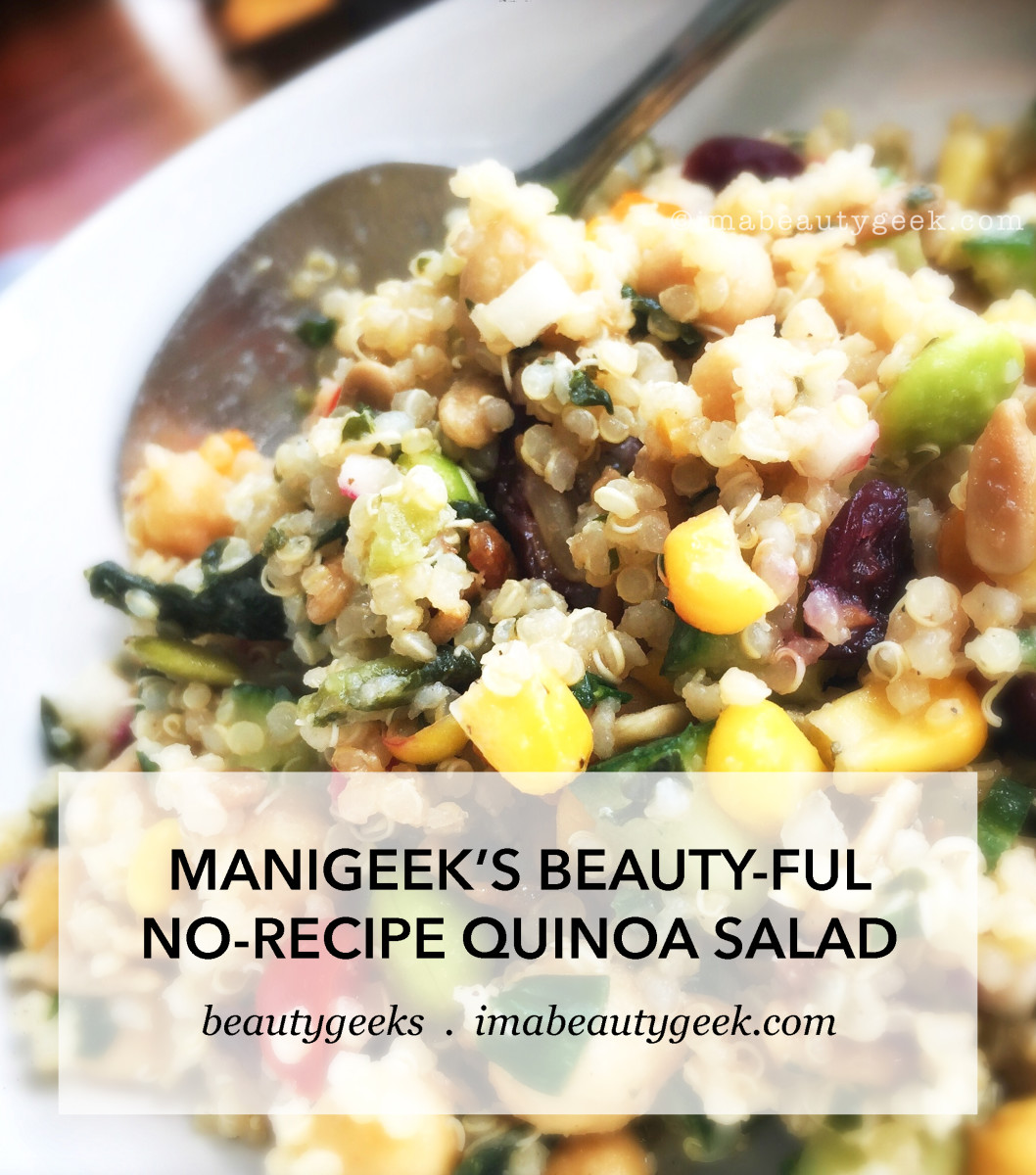 Manigeek's no-recipe Quinoa Salad