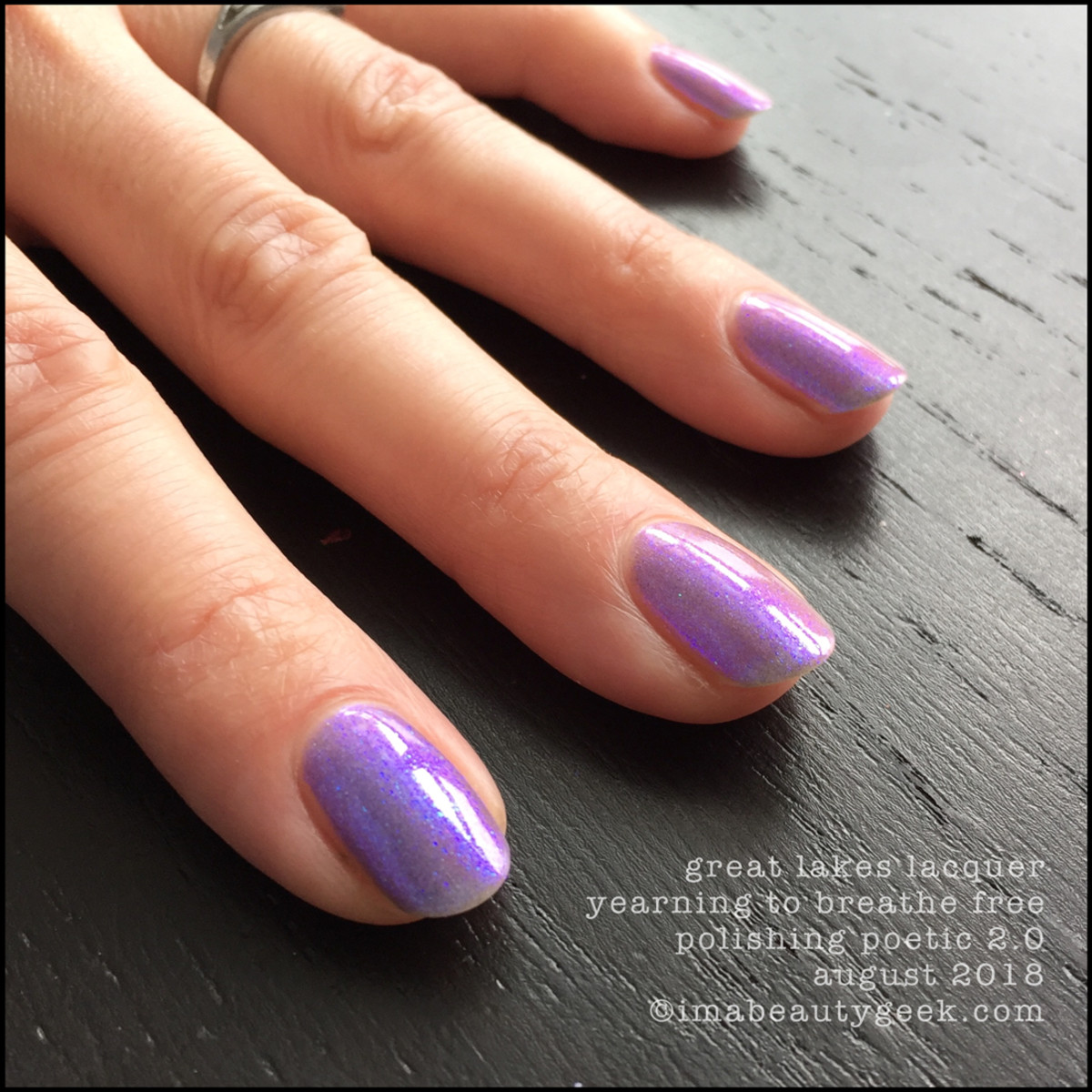 Great Lakes Lacquer Yearning to Breathe Free 4 _ Great Lakes Lacquer Polishing Poetic 2.0 Swatches Review