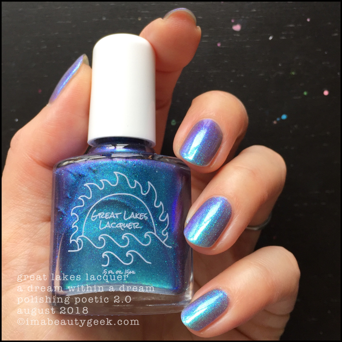 Great Lakes Lacquer A Dream Within A Dream 1 _ Great Lakes Lacquer Polishing Poetic 2.0 Swatches Review