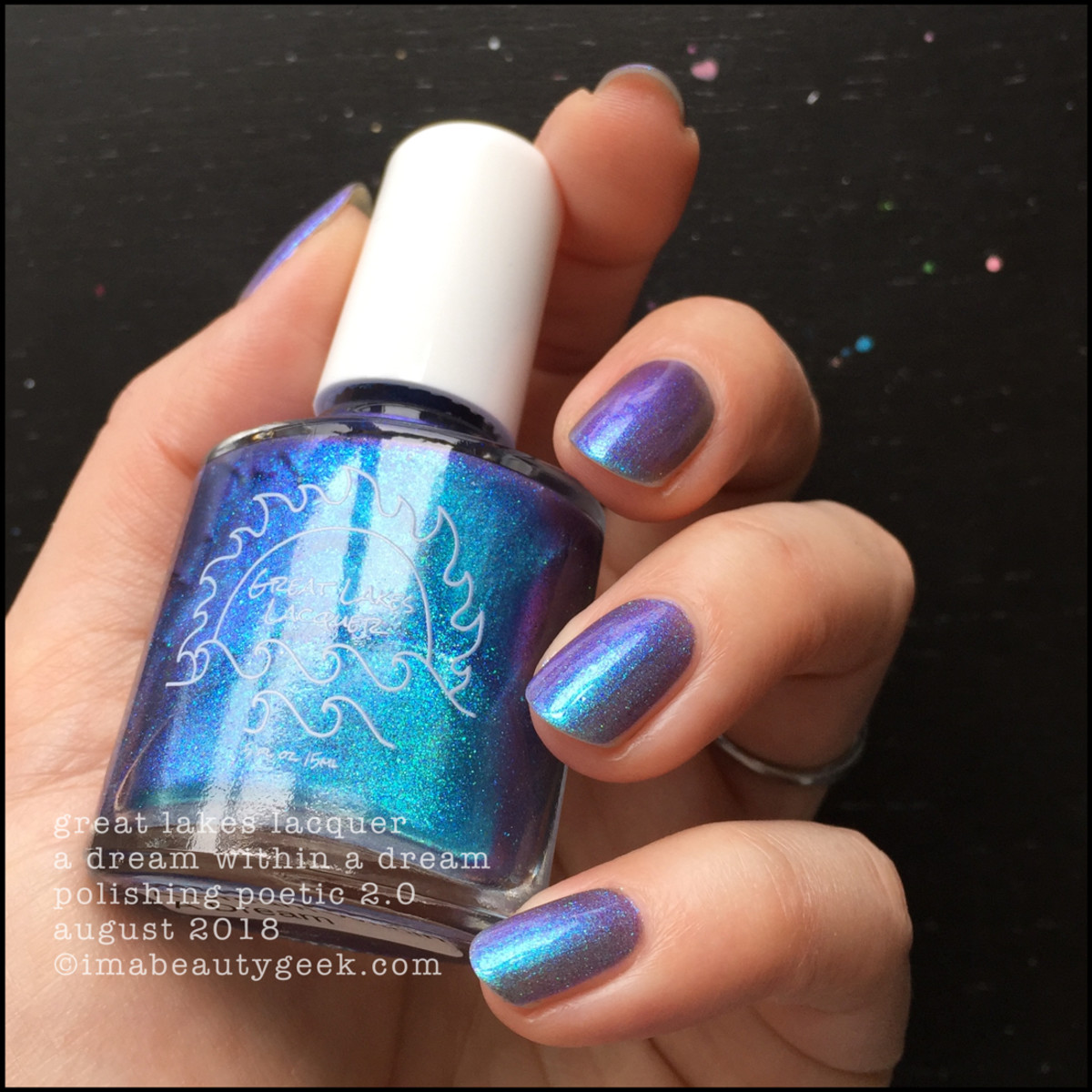 Great Lakes Lacquer A Dream Within A Dream 2 _ Great Lakes Lacquer Polishing Poetic 2.0 Swatches Review