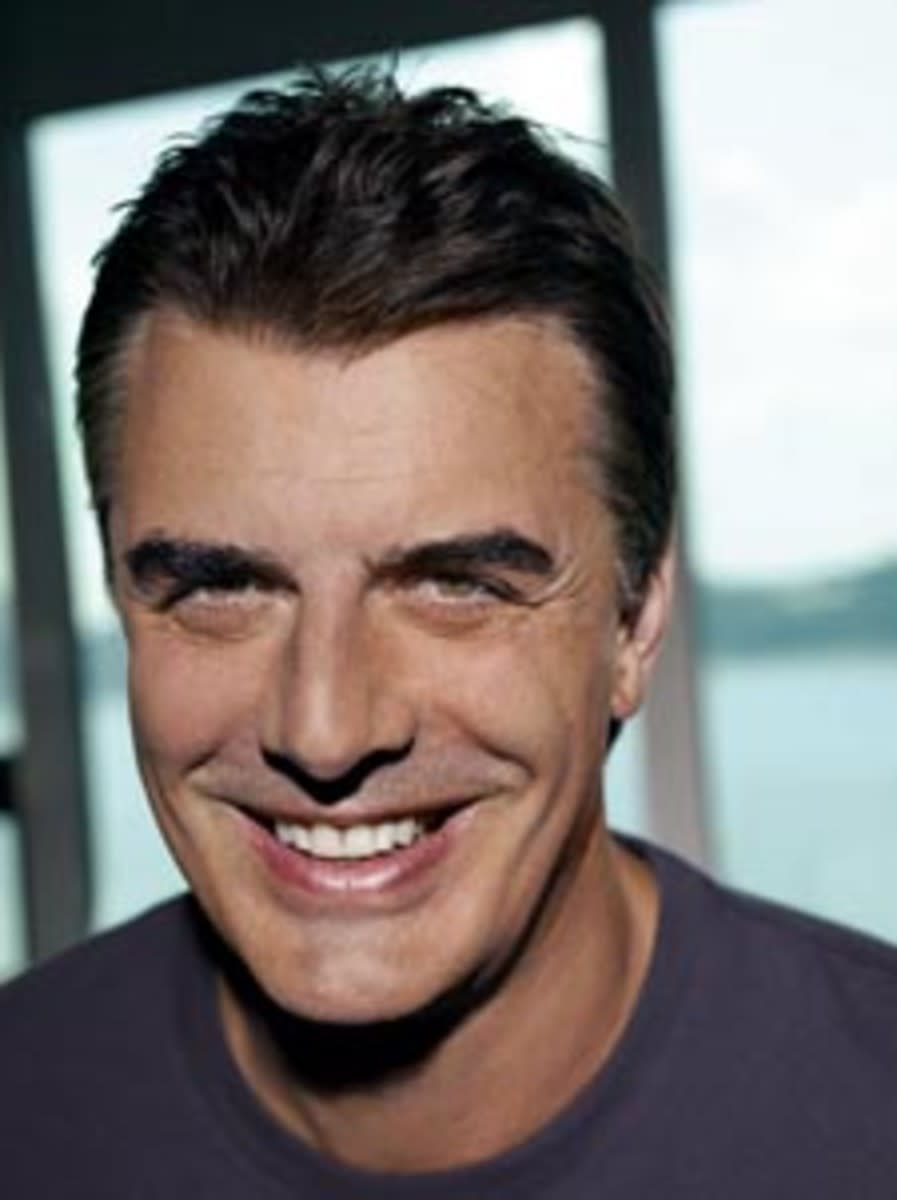 Big star Chris Noth is the face of Biotherm Homme