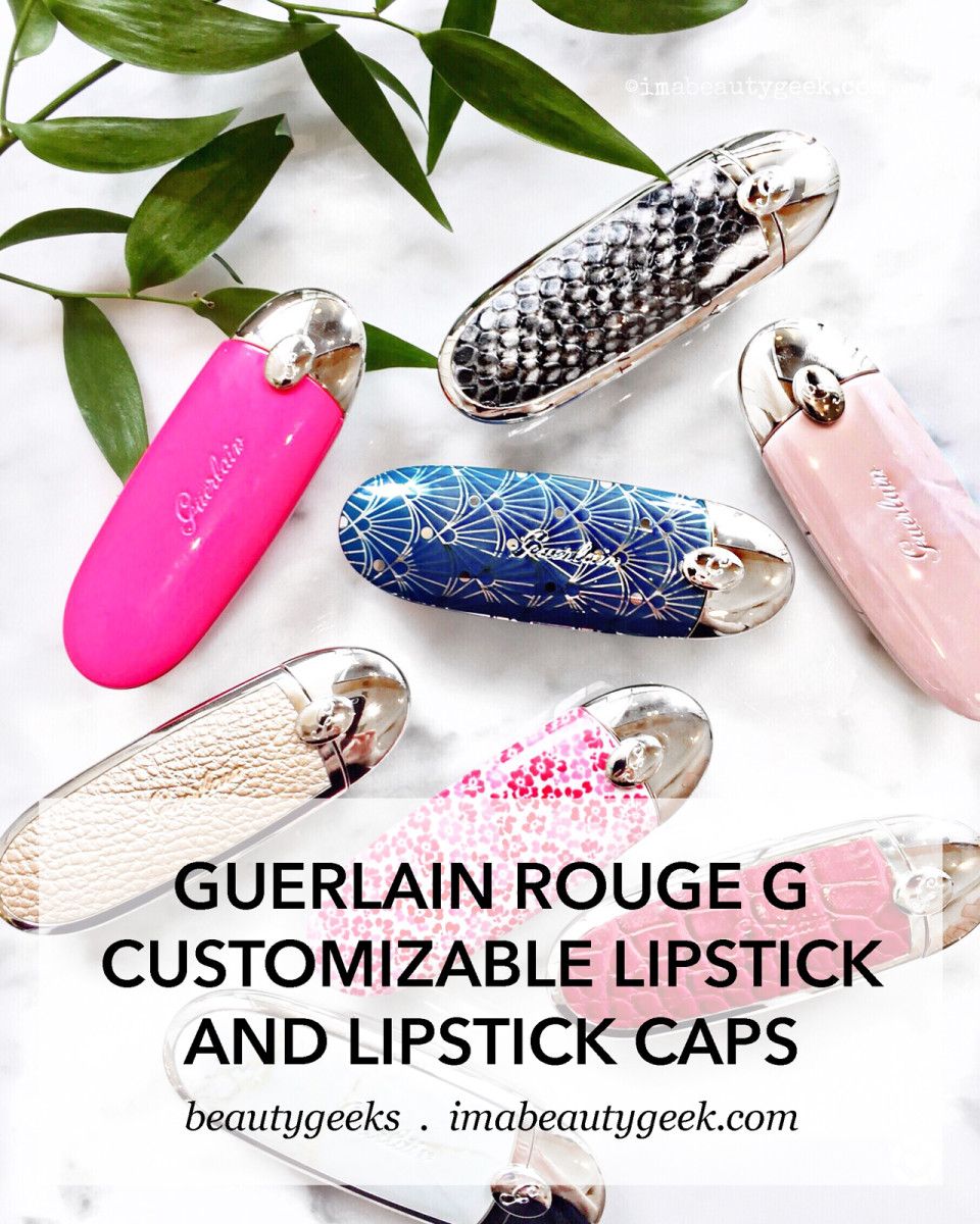 Guerlain Rouge G Customizable Lipsticks and Lipstick Cases
