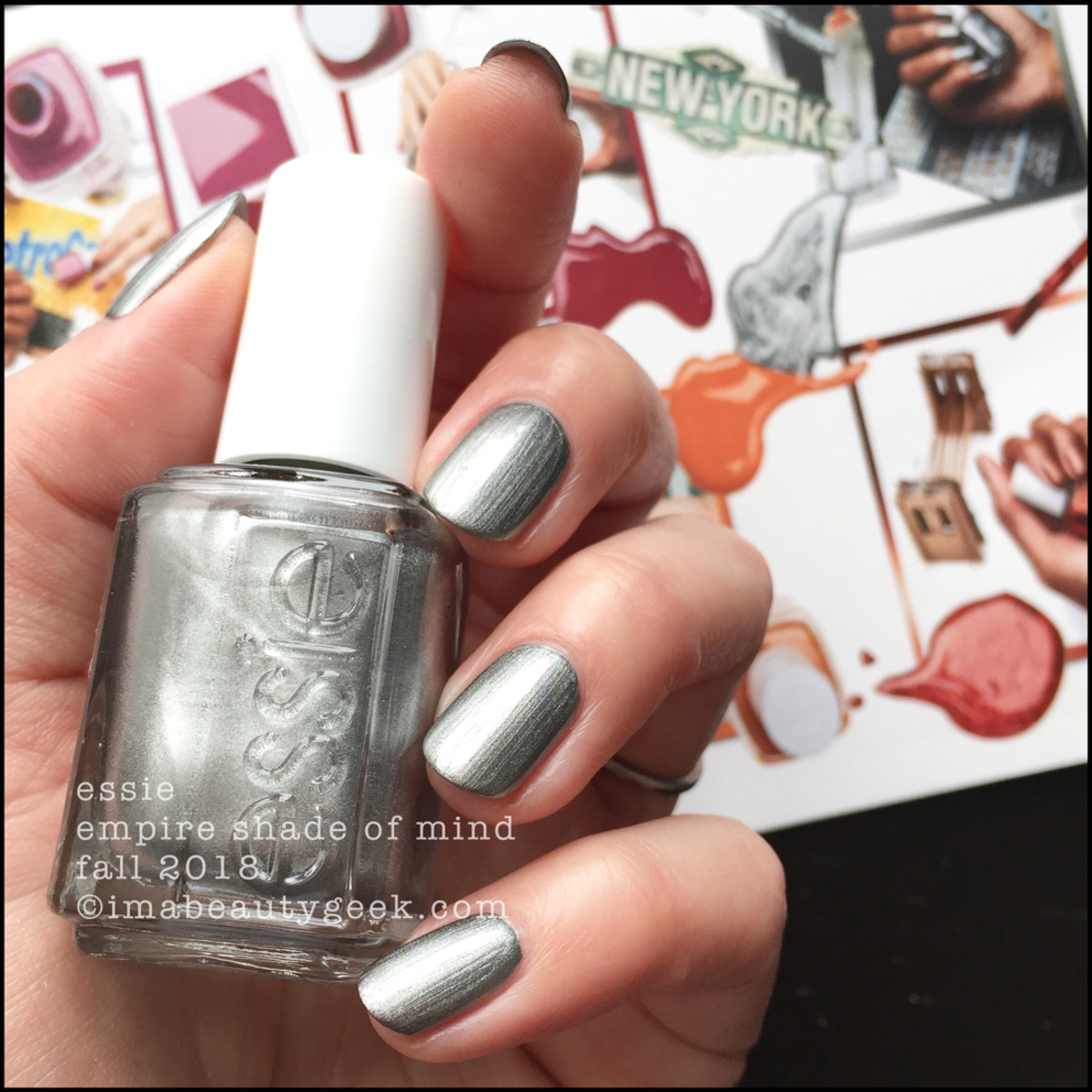 Essie Empire Shade of Mind _ Essie Fall 2018 Collection
