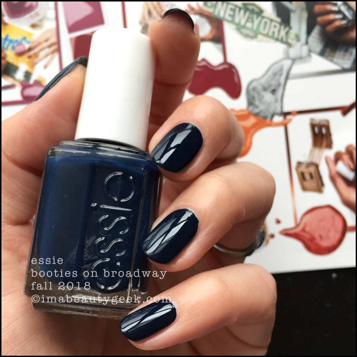 Essie Booties on Broadway _ Essie Fall 2018 Collection