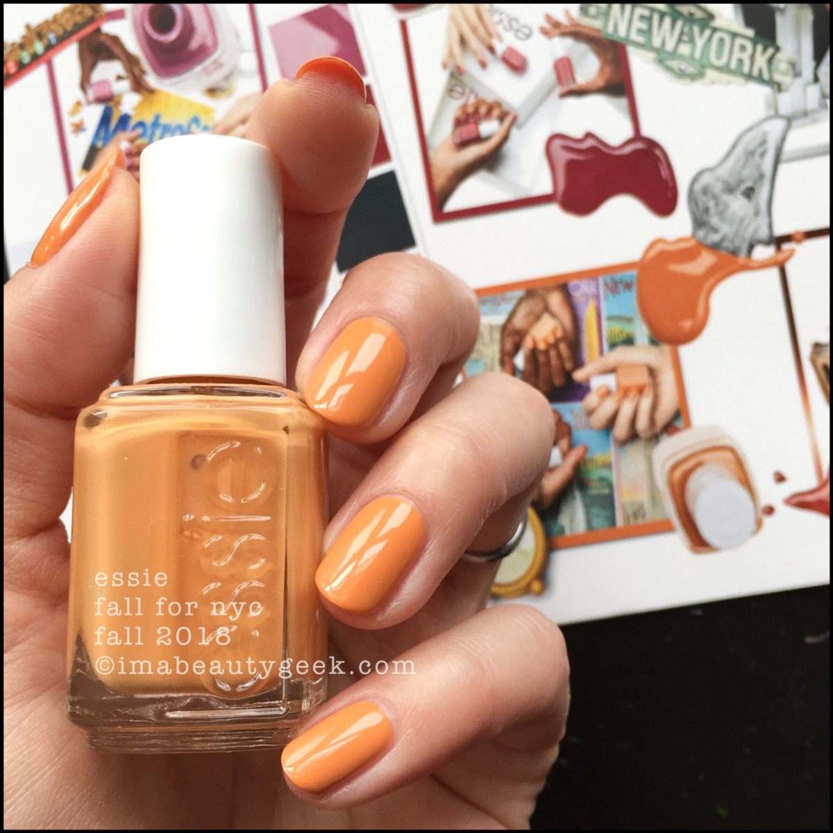 Essie Fall For NYC _ Essie Fall 2018 Collection