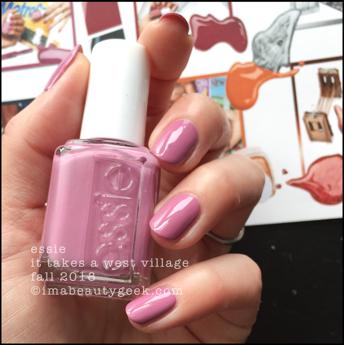 Essie It Takes a West Village _ Essie Fall 2018 Collection