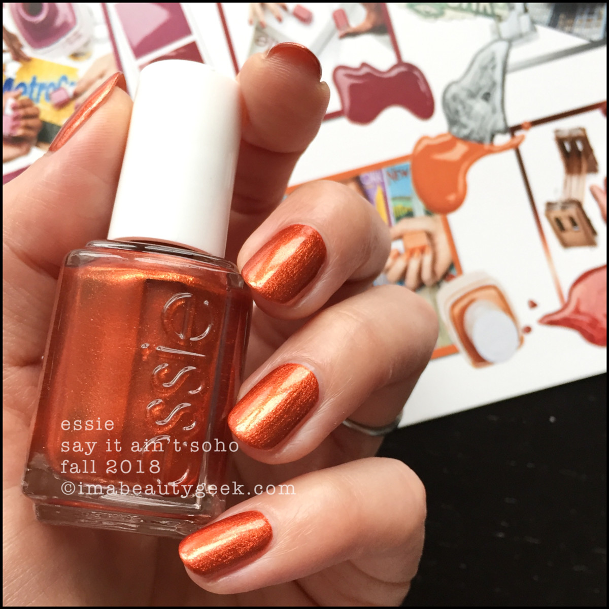 Essie Say It Ain't Soho _ Essie Fall 2018 Collection