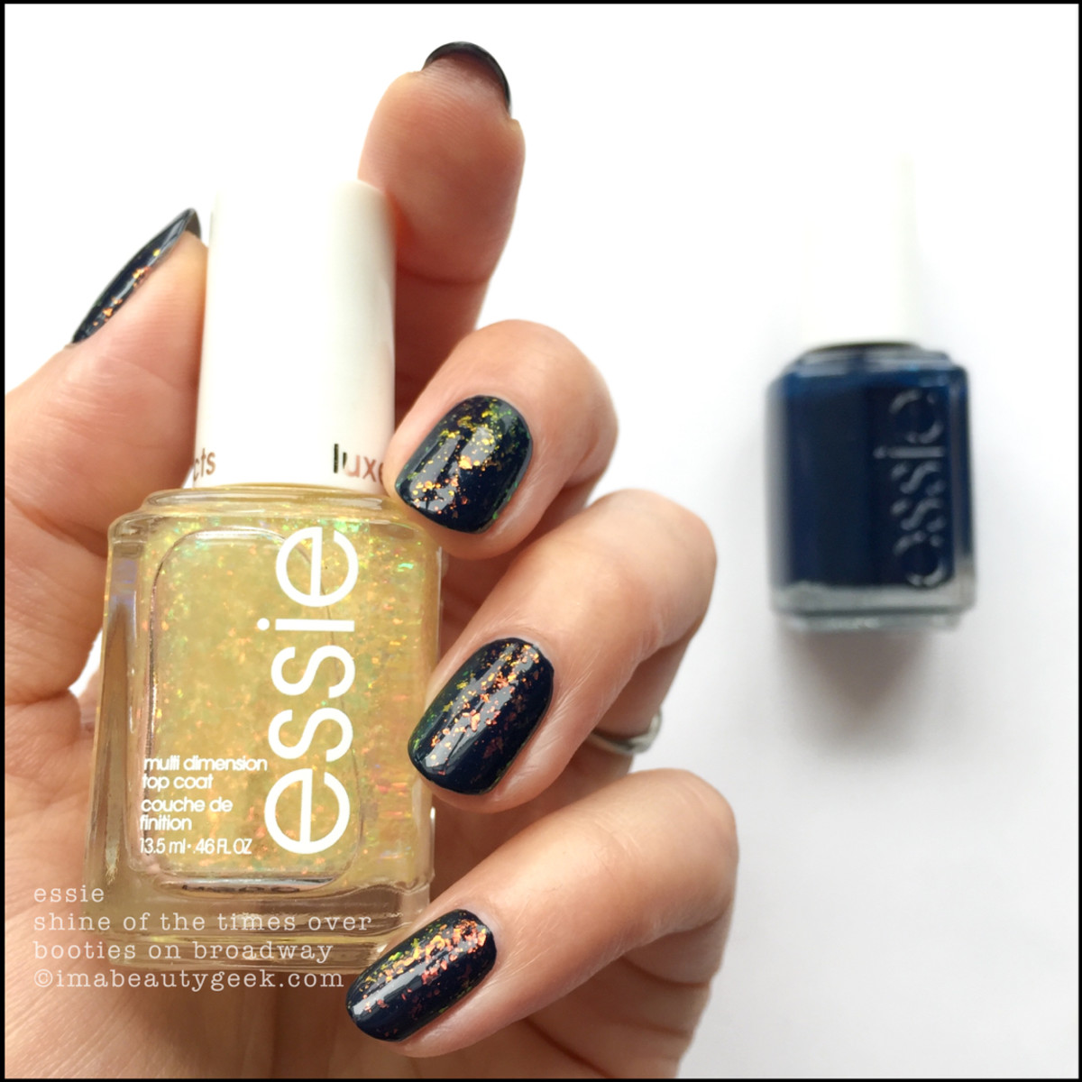 Essie Shine of the Times over Booties On Broadway _ Essie Fall 2018 Collection