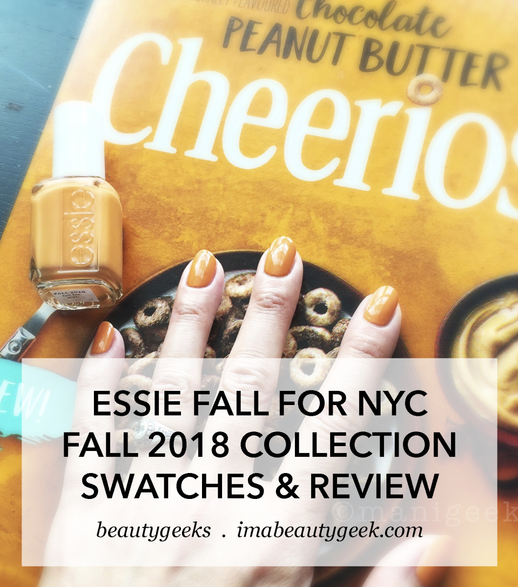 Essie Fall For NYC _ Essie Fall 2018