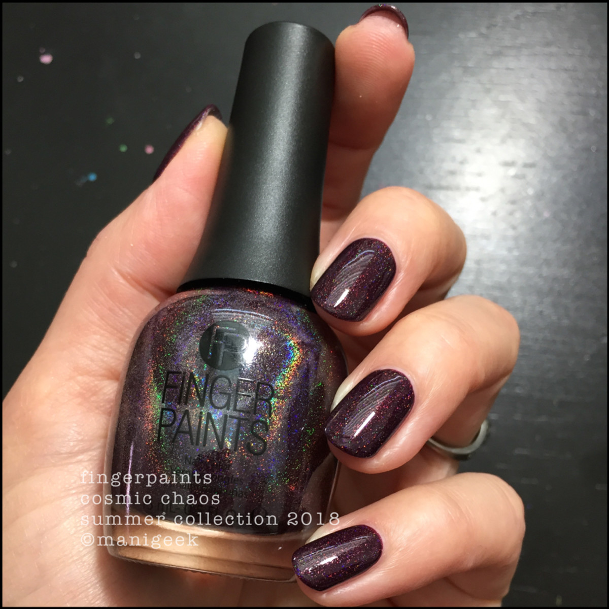 FingerPaints Cosmic Chaos Nail Polish Summer 2018