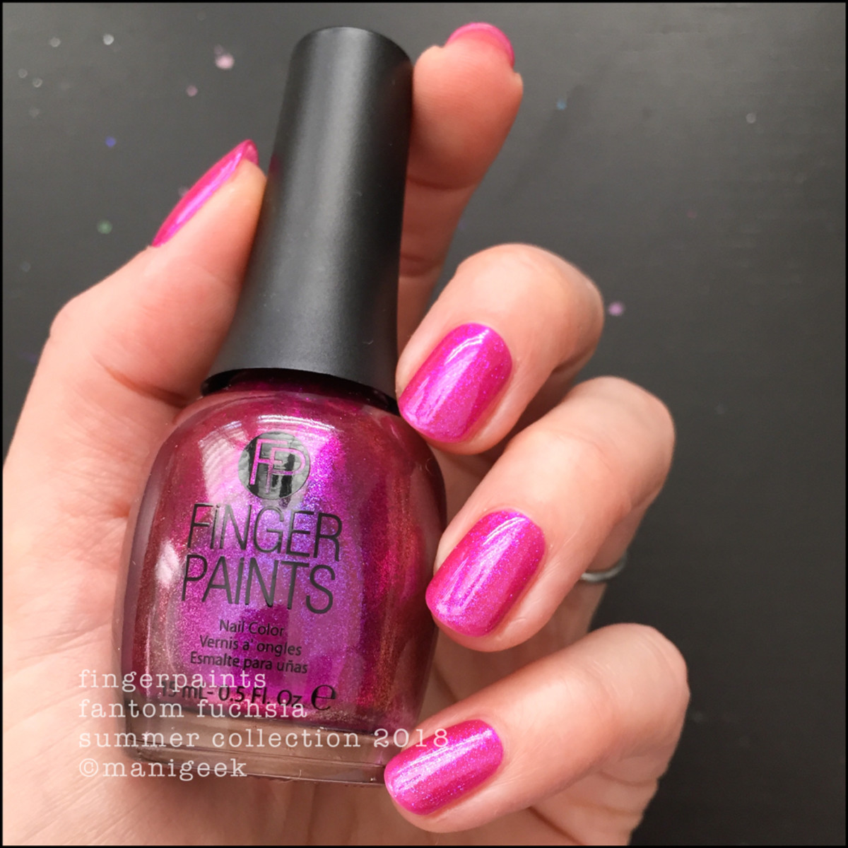 FingerPaints Fantom Fuchsia Nail Polish Summer 2018