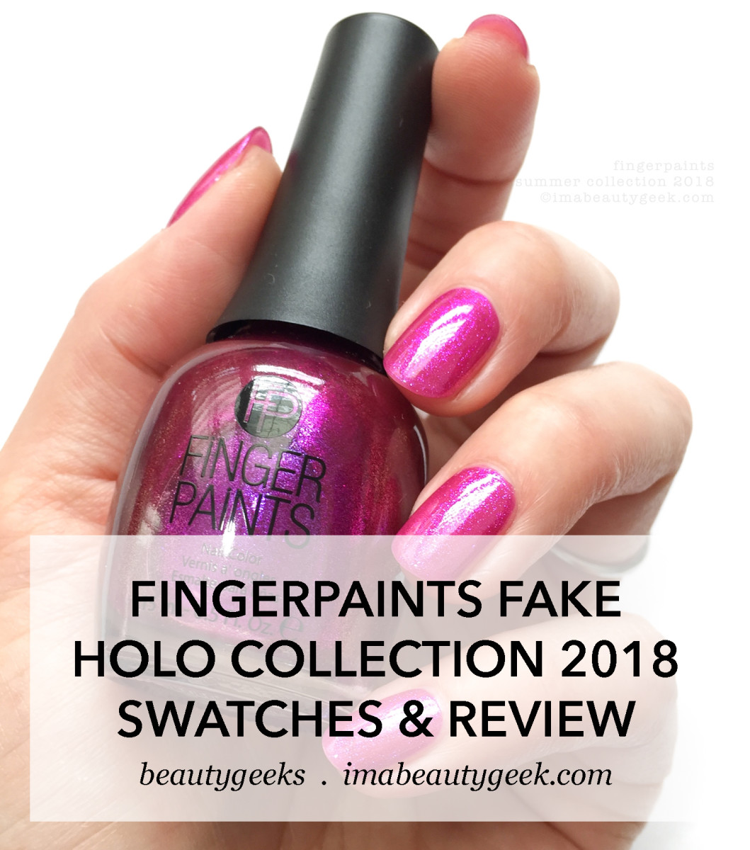 FingerPaints Nail Polish Summer Collection 2018 Swatches and Review