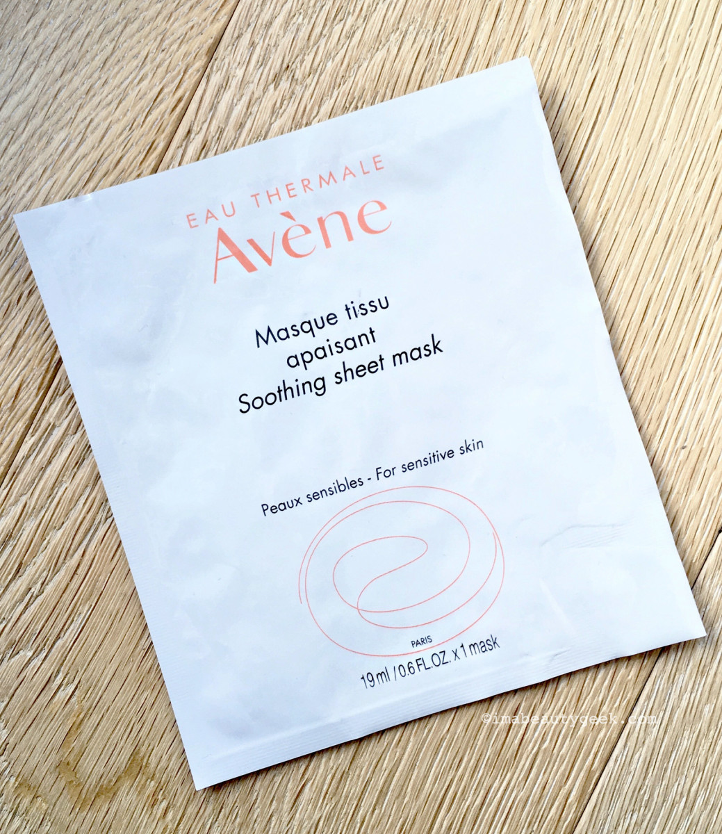 Avene Soothing Sheet Mask – a fragranced disappointment