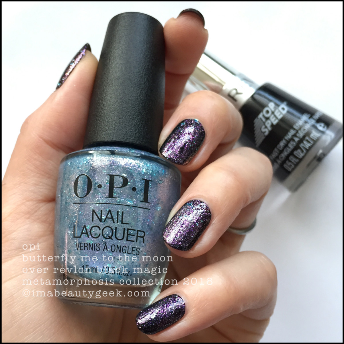 OPI Metamorphosis Collection - OPI Butterfly Me To The Moon