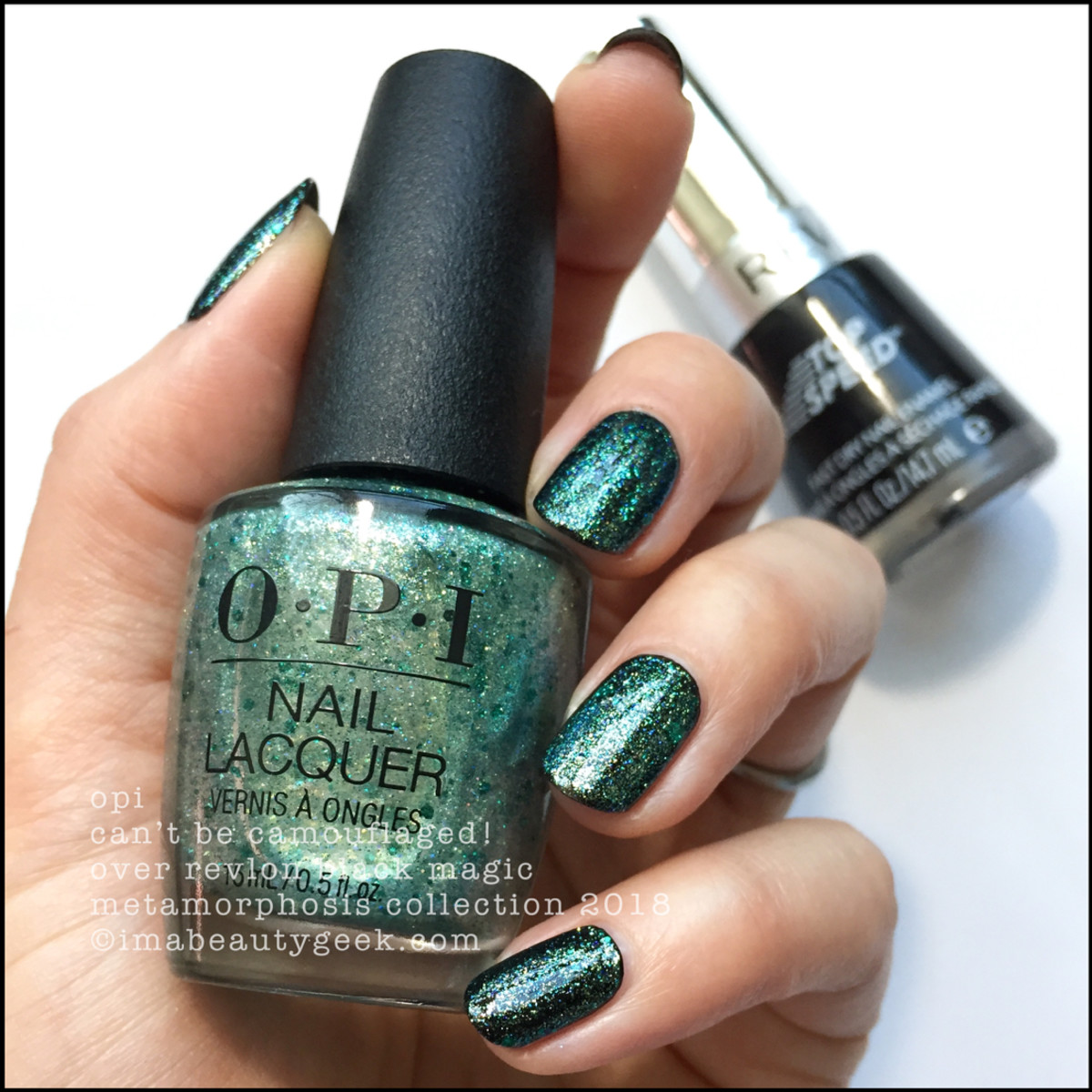 OPI Metamorphosis Collection - OPI Can't Be Camouflaged!