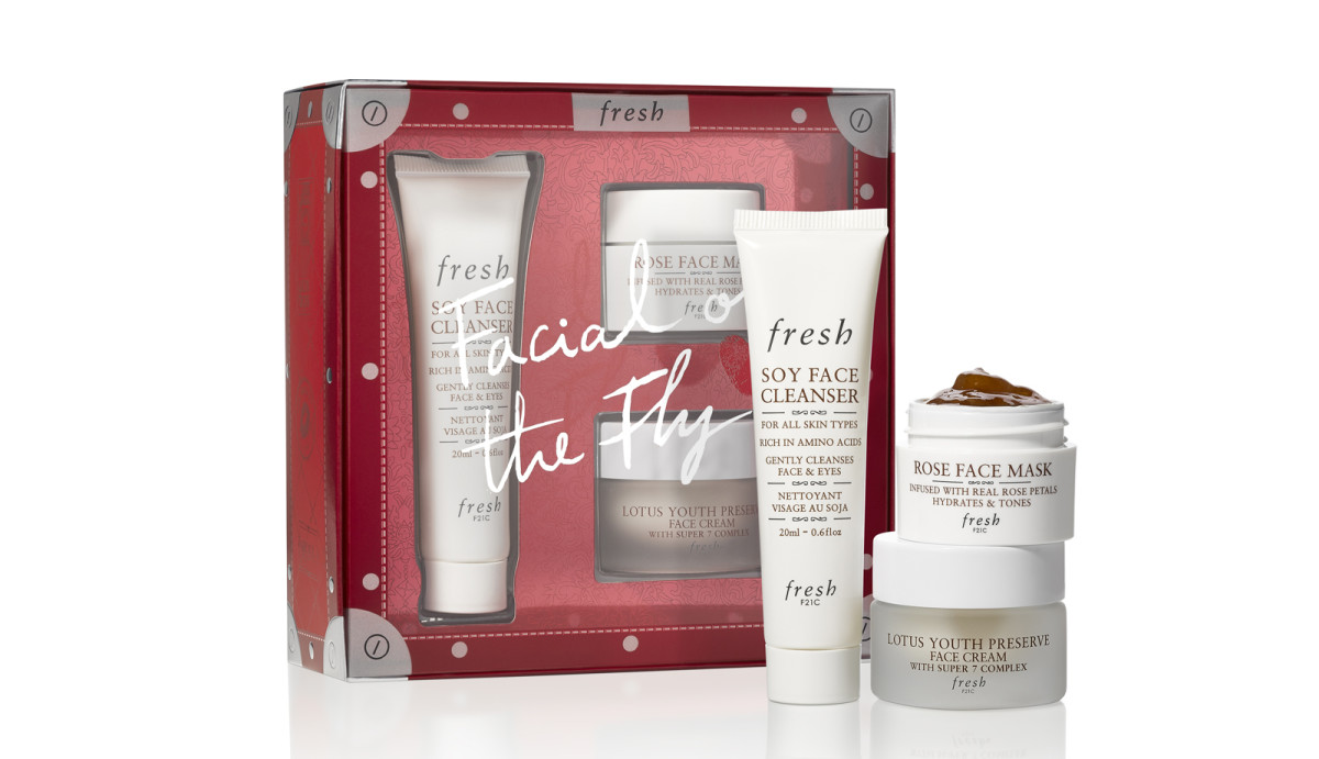 Fresh Holiday 2018: Facial on the Fly set