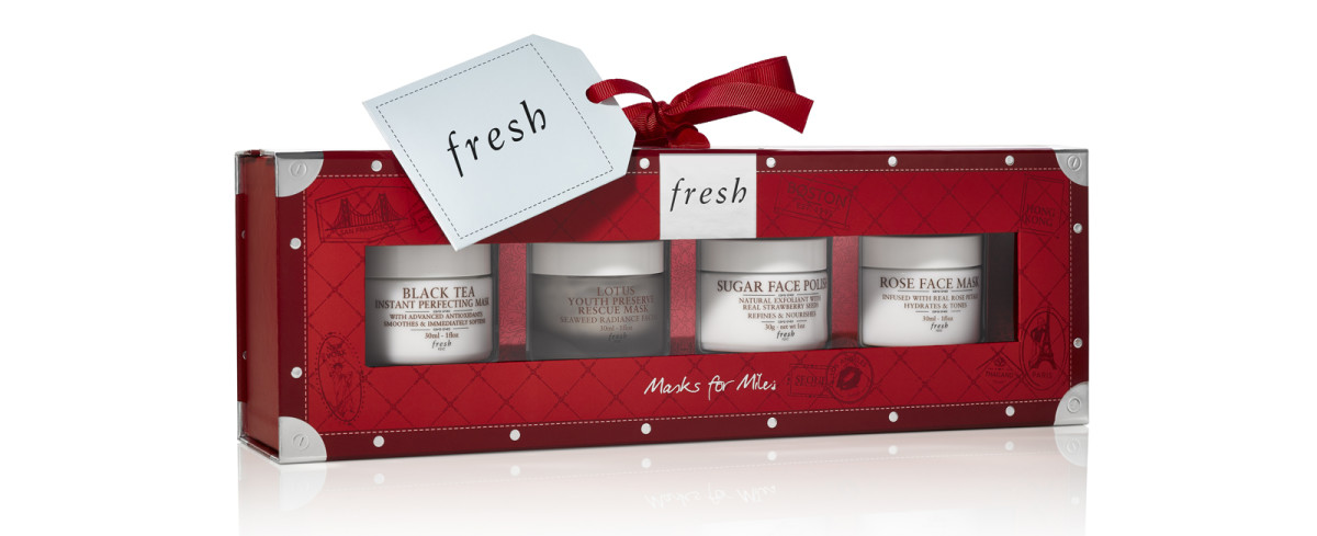 Fresh Holiday 2018: Masks for Miles set