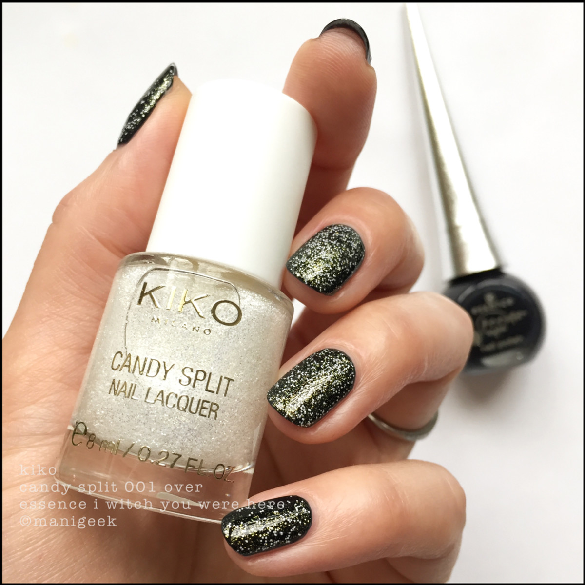Kiko Candy Split 01 over Essence I Witch You Were Here _ Essence Bootiful Nights Collection