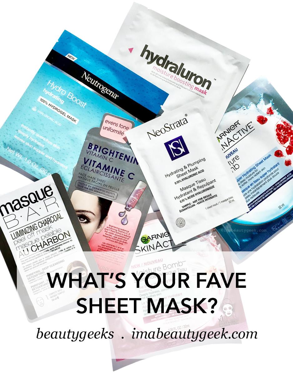 best drugstore sheet masks