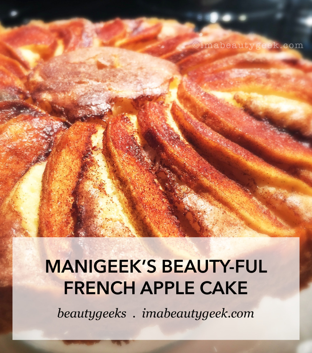 Manigeeks French Apple Cake
