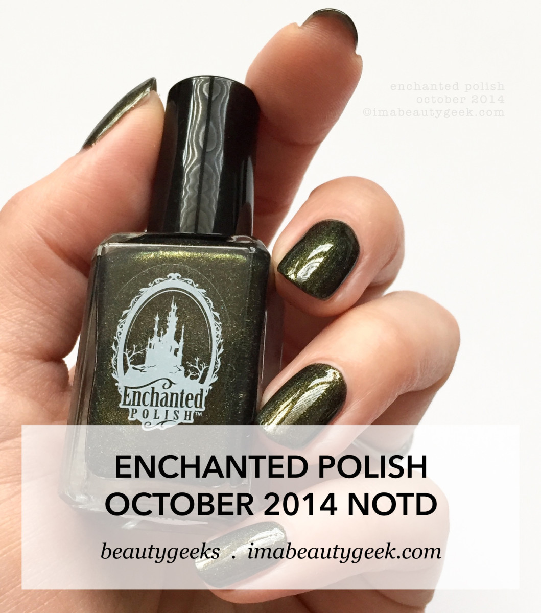 Enchanted Polish October 2014 NOTD