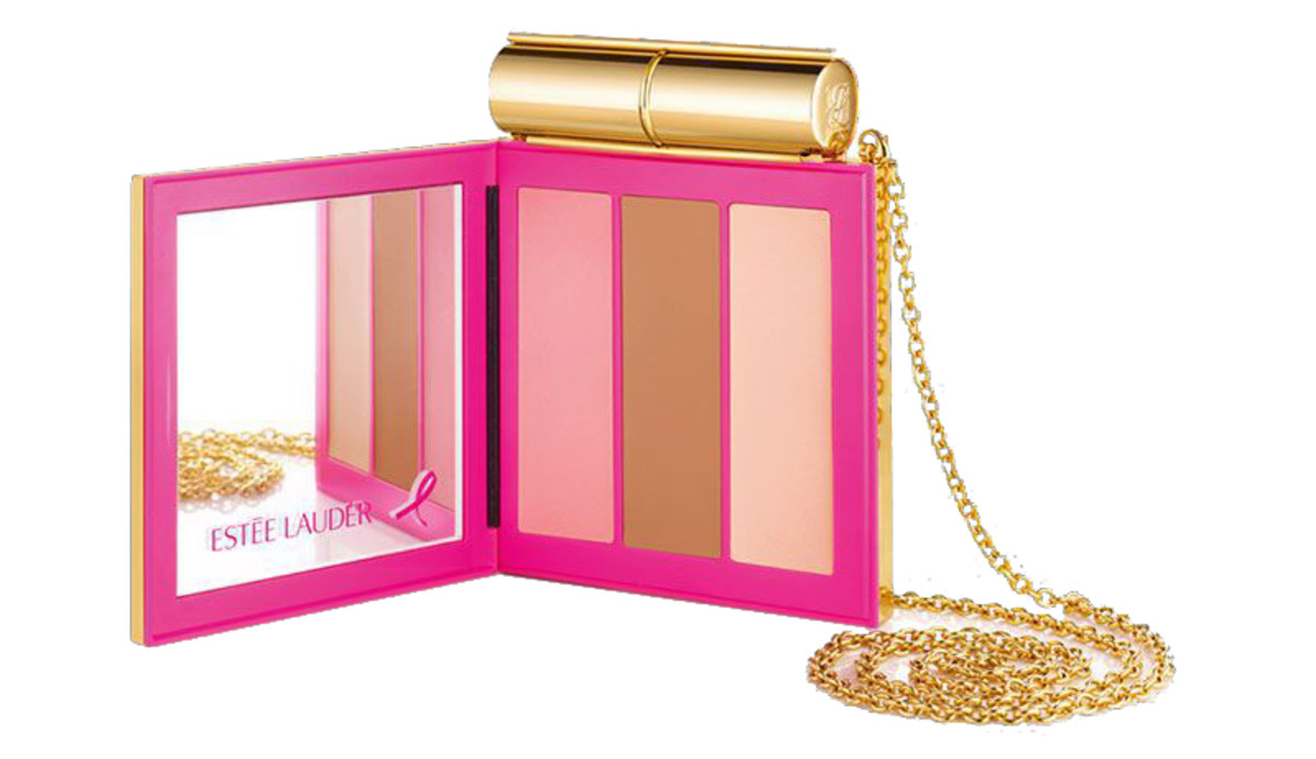 Estée Lauder Powerful Pink Contour & Highlight Minaudière: available on the US Lauder site