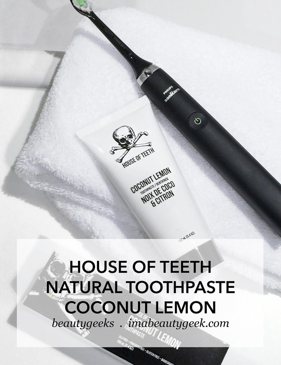 House of Teeth Apothecary Natural Toothpaste Coconut Lemon