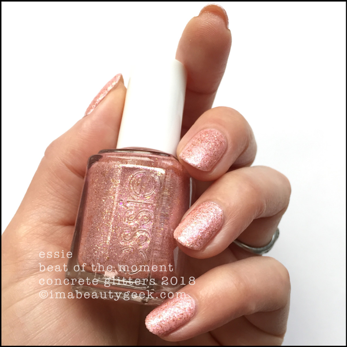 Essie Beat of the Moment - Essie Concrete Glitters 2018 Swatches
