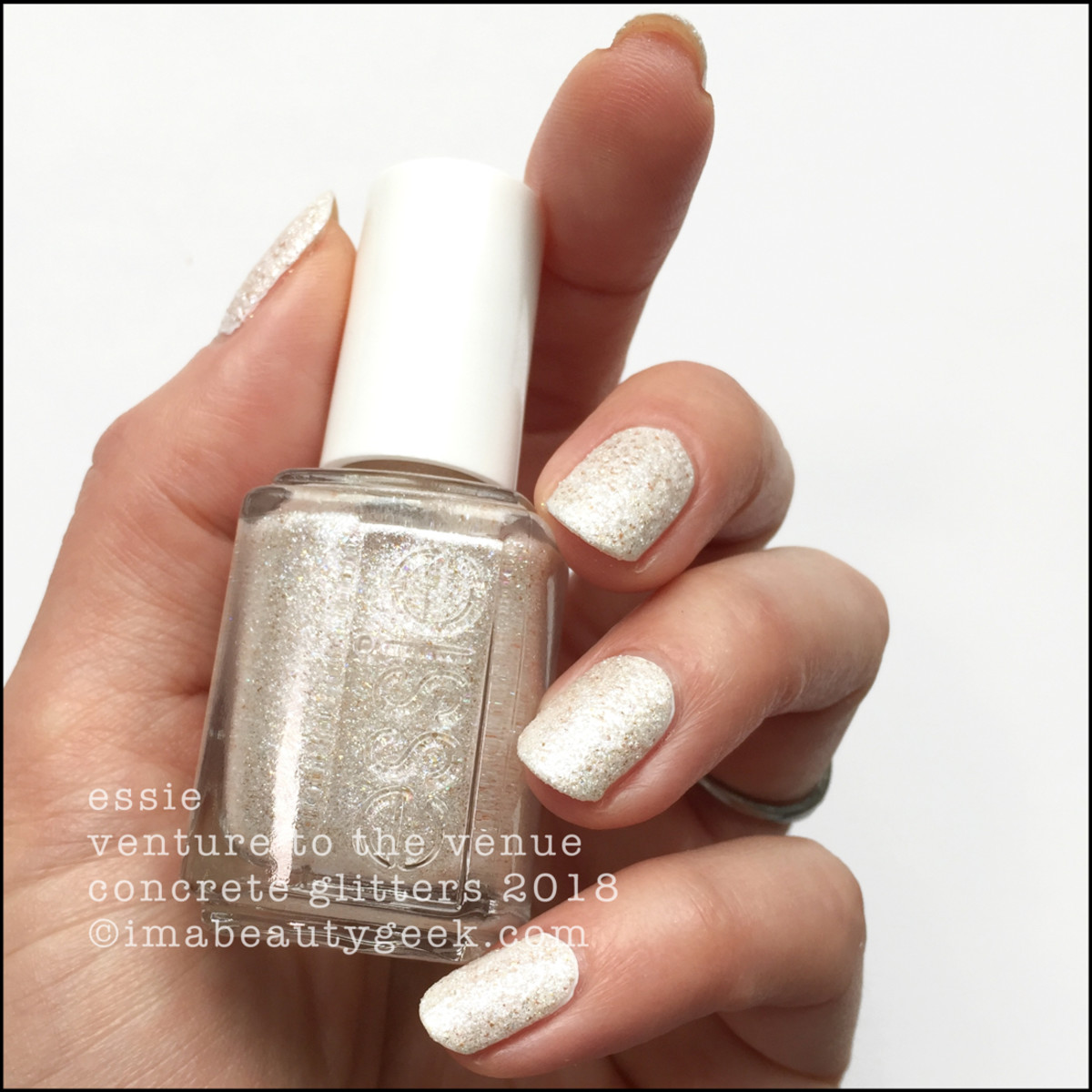 Essie Venture to the Venue - Essie Concrete Glitters 2018 Swatches