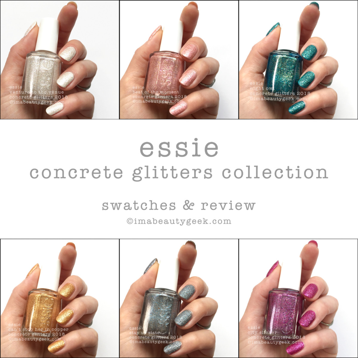 Essie Concrete Glitters Swatches and Review Beautygeeks Composite