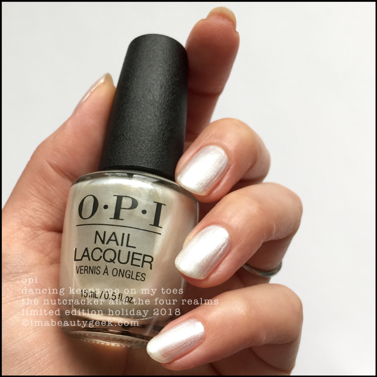OPI Dancing Keeps Me On My Toes - OPI Nutcracker Holiday 2018