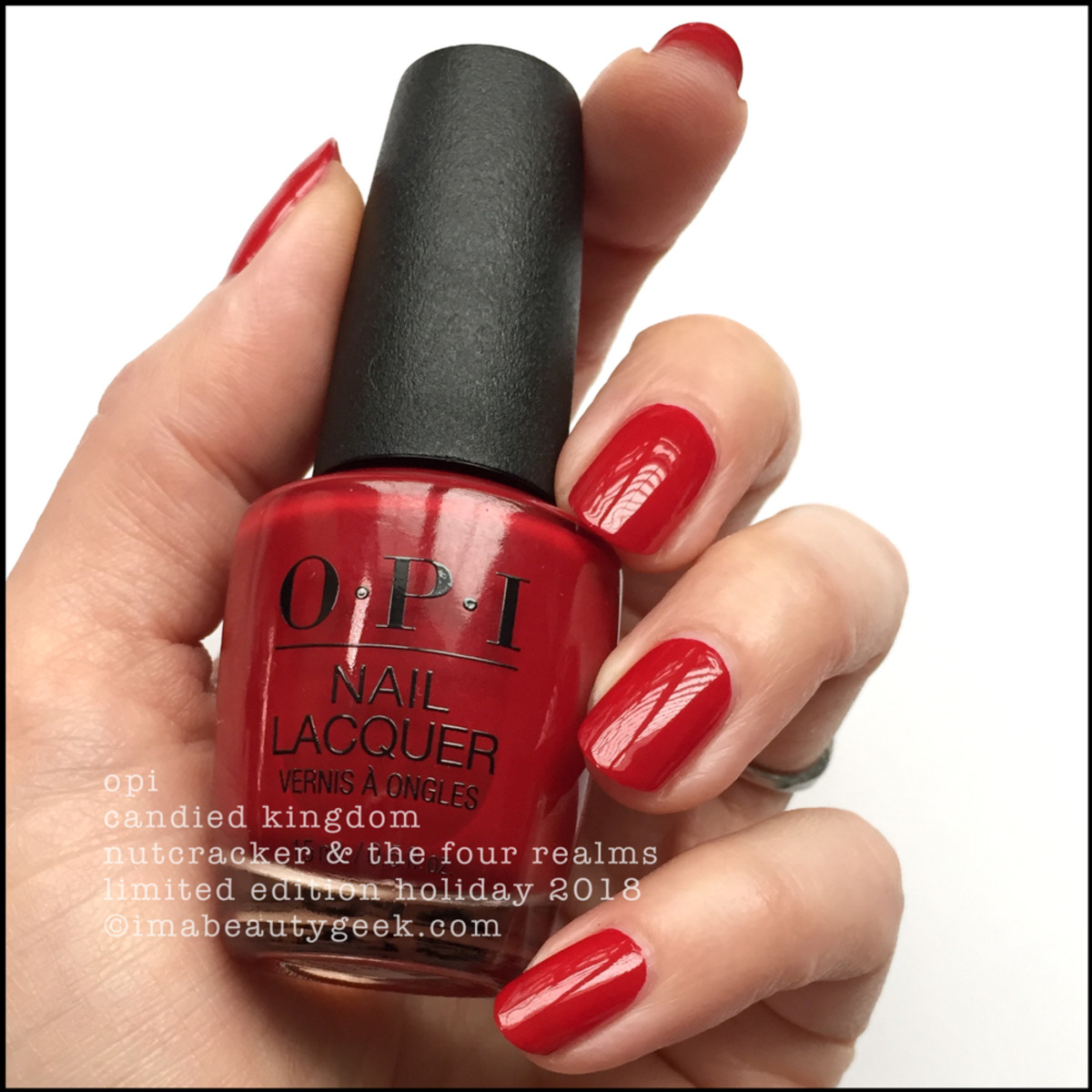 OPI Candied Kingdom - OPI Nutcracker Holiday 2018